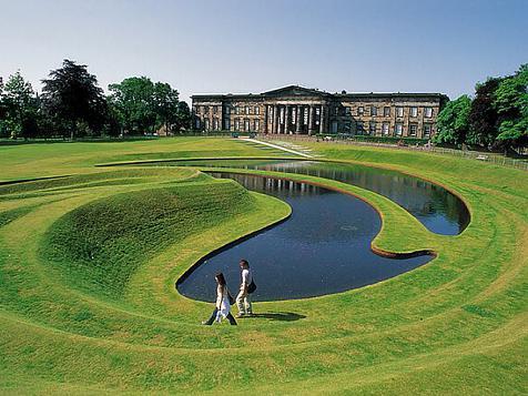 Charles Jencks and postmodern gardens
