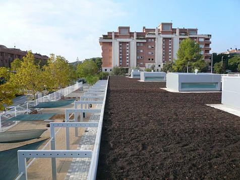 Green roof in Castelldefels (Barcelona)