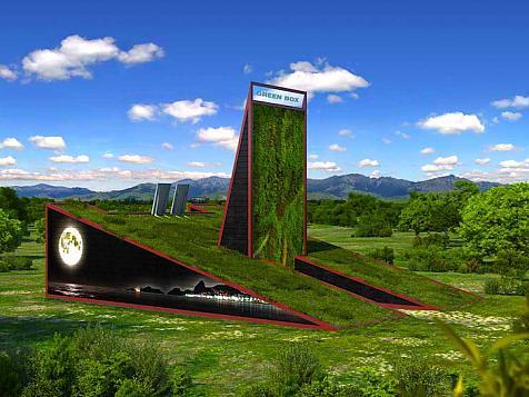 Project Green Box, Feria Construmat 2009, Barcelona